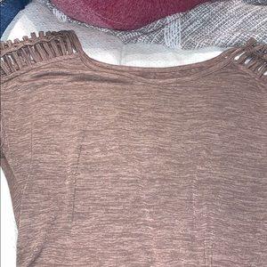 Brown soho New York and company shirt